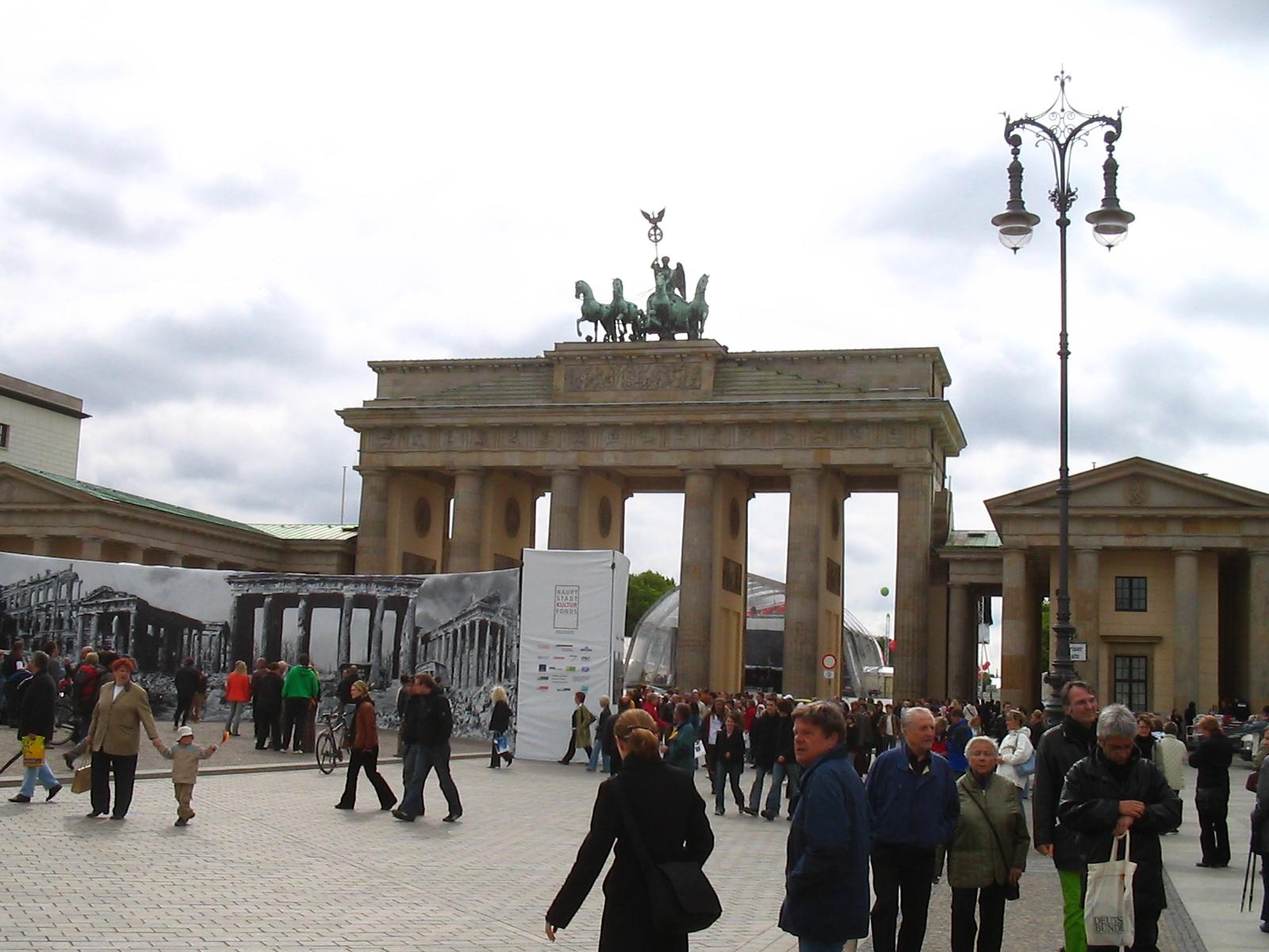 Puerta de Bradenburgo, Berlin